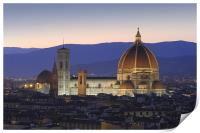 Florence by night, Print