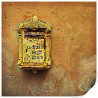 French post box, Print