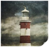 Lighthouse, Print