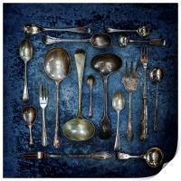 Spoons & Forks, Print