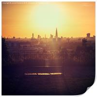 View Over London, Print