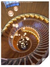 The Spiral Stairs, Print