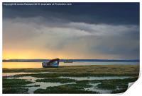 Approaching Rainstorm, Print