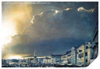 Venice Storm, Print