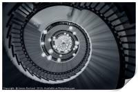 Spiral Staircase, Print