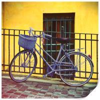 Purple Bike, Print