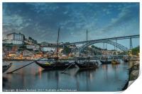 Porto at Dusk, Print