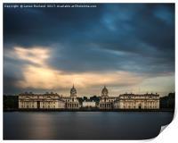 Royal Naval College, Greenwich, Print