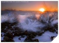 Sunrise Explosion, Print