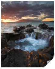 Sunset Caldron, Print