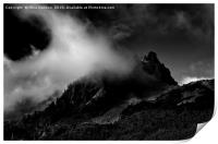 Unicorn Peak, Print