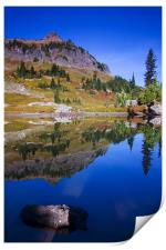 Reflections of Fall , Print