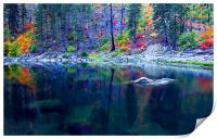 Ghostly Reflections , Print