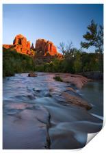 Red Rock Sunset , Print
