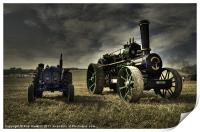 The Fordson & the Fowler, Print
