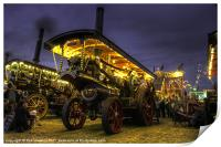 Showmans Engine by night, Print