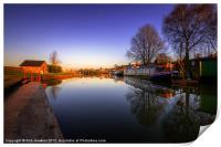 Tiverton Canal Basin, Print