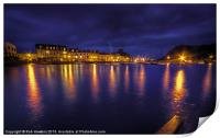 Ilfracombe Harbour by Night, Print