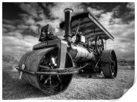Steam Rolling, Print