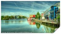 Lincoln Waterfront , Print