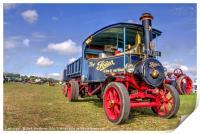 The Foden Steam Wagon, Print