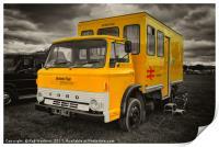 The BR crew bus , Print