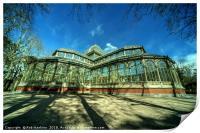 Crystal Palace of Madrid, Print