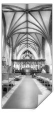 Crowland Abbey, Print