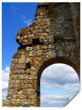 Cloudy Arch, Print
