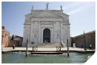 Redentore Church in Venice, Italy., Print