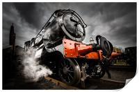 Steam Locomotive, Print