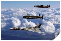 Avro Sisters 2, Print