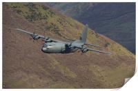C130 Hercules low level, Print