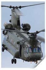 RAF CH47 Chinook, Print