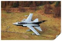 Tornado GR4 056 low level in wales, Print
