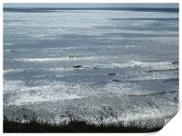 Charmouth seascape, Print