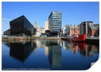 Liverpool reflections, Print