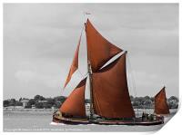 Thames Barge Repertor, Print