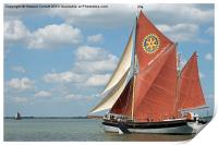 Thames Barge Cambria, Print