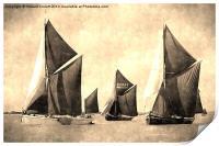 Niagara, Edme and Edith May , Print