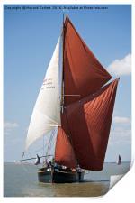 Thames Barge Edith May, Print