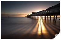 Southwold Pier dawn, Print