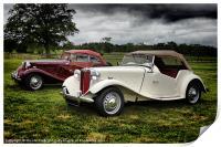 Classic MG Cars, Print