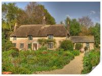 Hardy's Cottage, Print