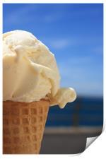 Ice Cream, Print