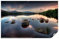 Loch Morlich - Sunset, Print
