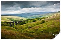 Dent Head Viaduct - North Yorkshire Dales, Print