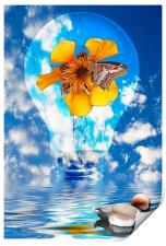 Flowering Bulb, Print