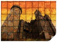 Arundel Castle at Sunset, Print