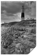 Portland Bill Lighthouse, Print
